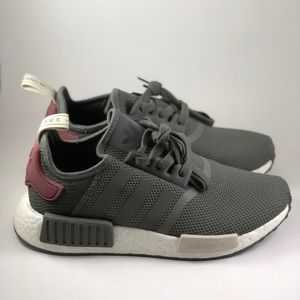 Adidas NMD R1 Grey Size 6.5 Sneakers New W Box